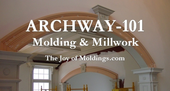 how to build an archway