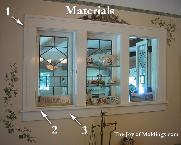 window trim moldings