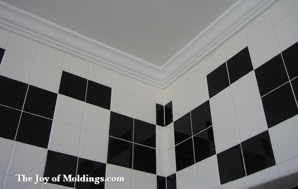 bathroom crown molding. here? really? - the joy of moldings
