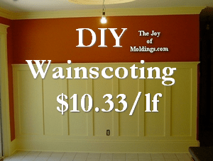 craftsman wainscoting
