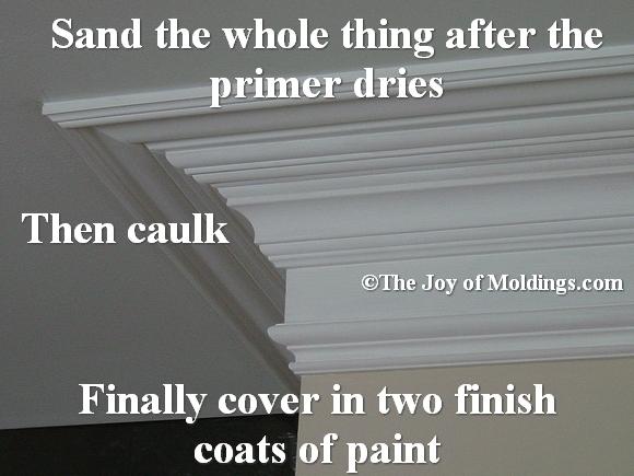 kitchen crown molding