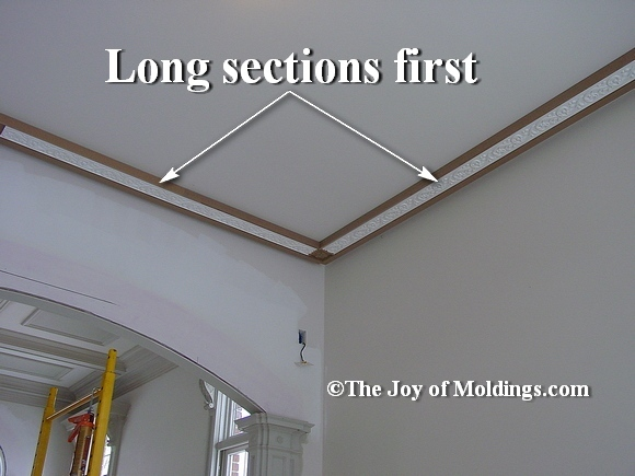 install crown molding