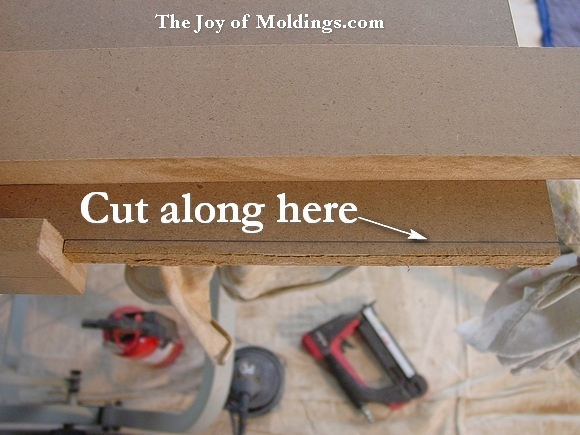 mdf molding