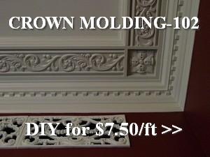 diy crown molding