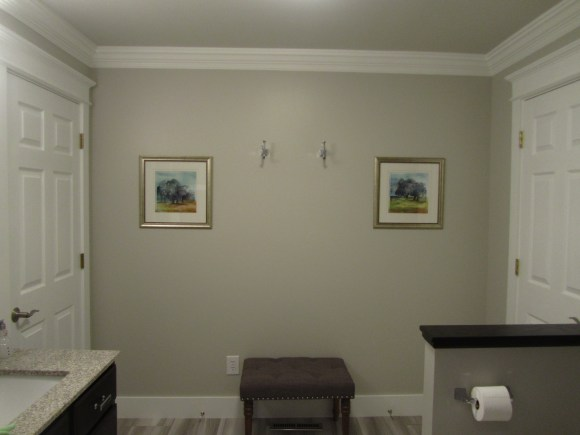 paint bathroom