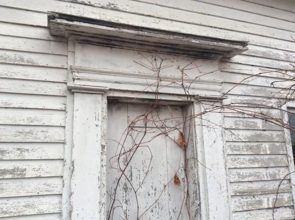 historic front door molding