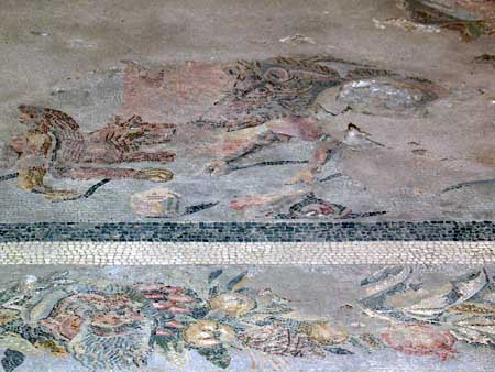 mosaic from a domus in the paleapolis of Palermo - holidaysinpalermo.co.uk