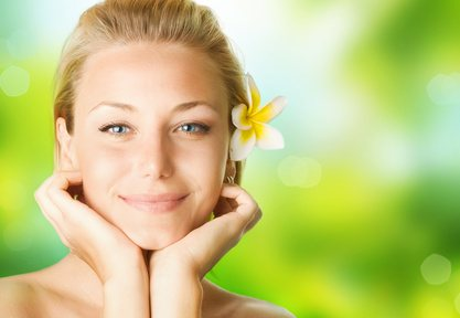 Youthful Skin: Spa Girl face