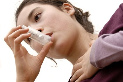 Asthma: teneager with asthma