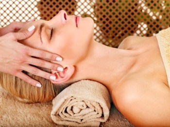 Lymphatic Facial Drainage.