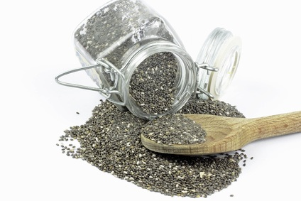 Salvia hispanica chia seeds