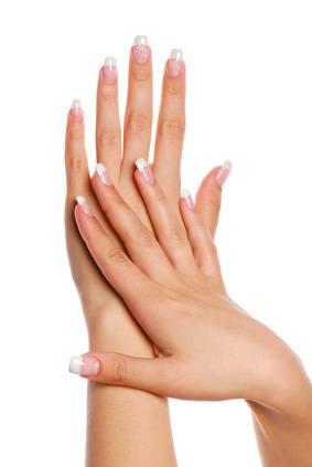 Emotions and Skin: beautifull woman hand. fingernail.