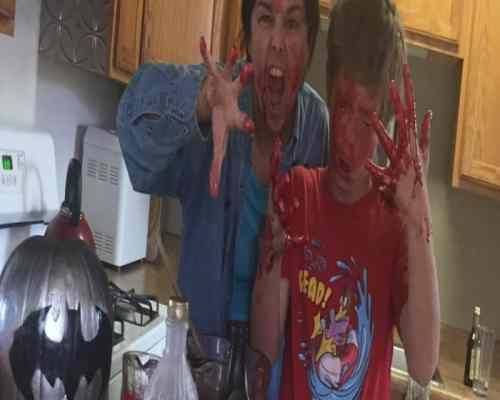 DIY Fake Blood walking dead batman chocolate