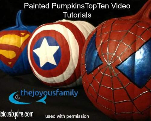 video tutorials pumpkins painted top videos youtube