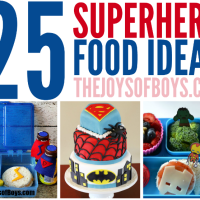 25 Superhero Food Ideas that Don't Require Super Powers to Make