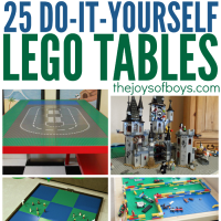 DIY Lego Tables