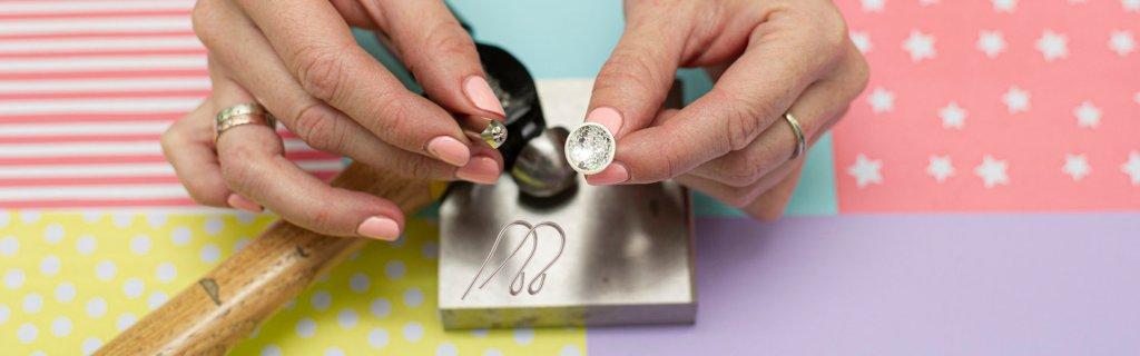 Make a pair of silver earrings at The JQ Set Birmingham
