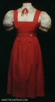 Red Dorothy Dress
