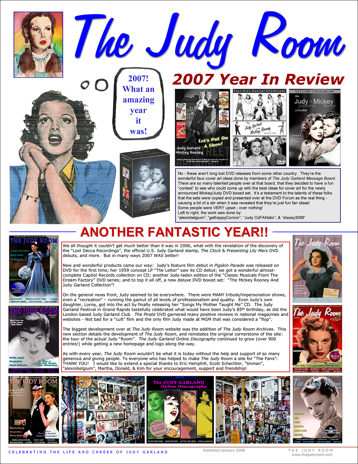 The Judy Room's 20006 Year in Review