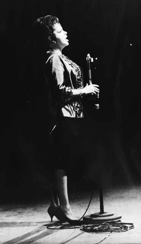 Judy Garland at the Olympia in Paris