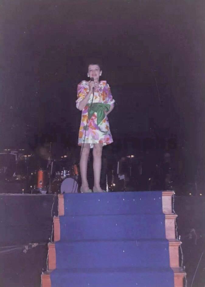 Judy Garland at the Boston Bay Back
