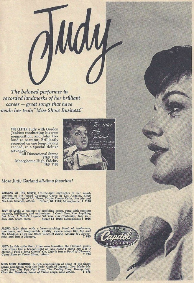 """Capitol Records ad for """"The Letter"""""""