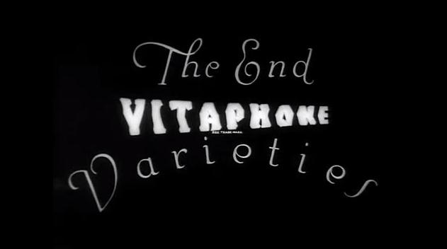 Vitaphone Varieties End Title