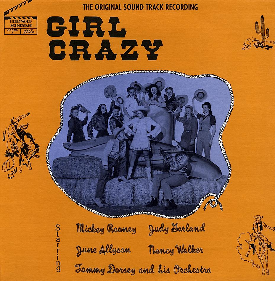 Girl Crazy bootleg LP