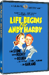 LIfe Begins for Andy Hardy DVD