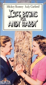LIfe Begins for Andy Hardy VHS
