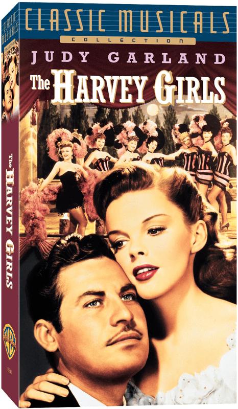 1990s VHS of The Harvey Girls