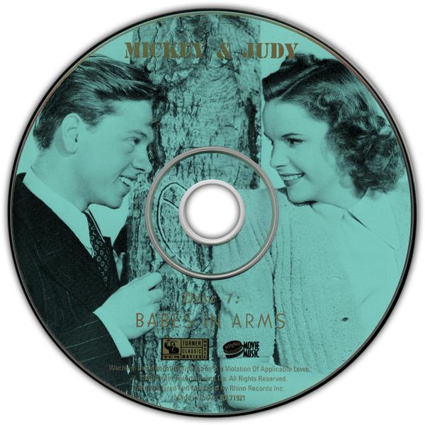 MIckey Rooney Judy Garland Rhino 2-CD set