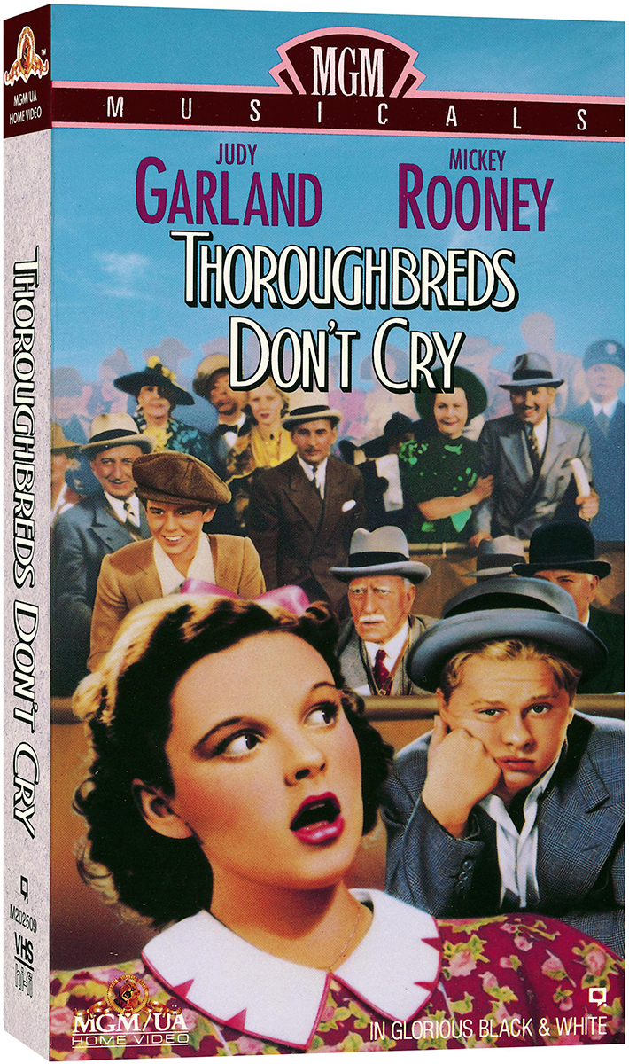 Thoroughbreds Don't Cry VHS