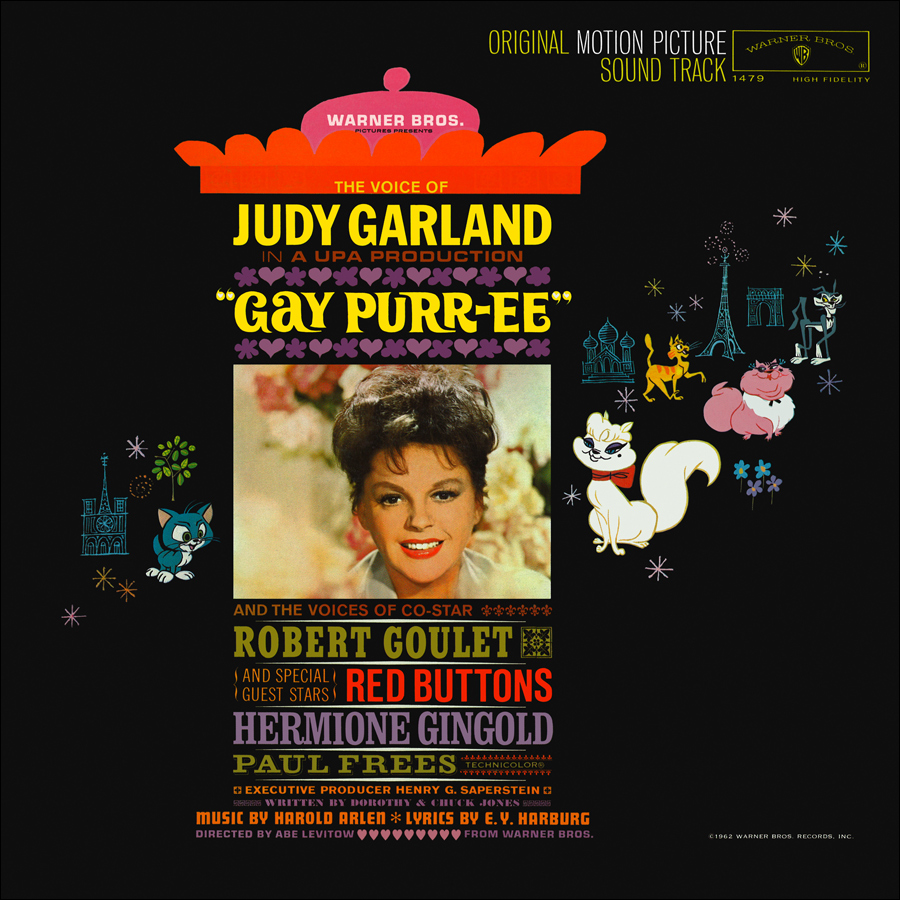 Gay Purr-ee soundtrack