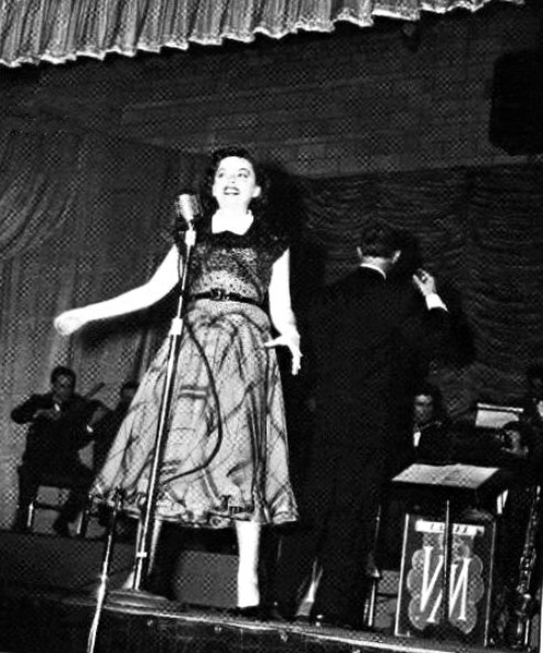 Judy Garland at the Bluegrass Festival in Lexington, KY