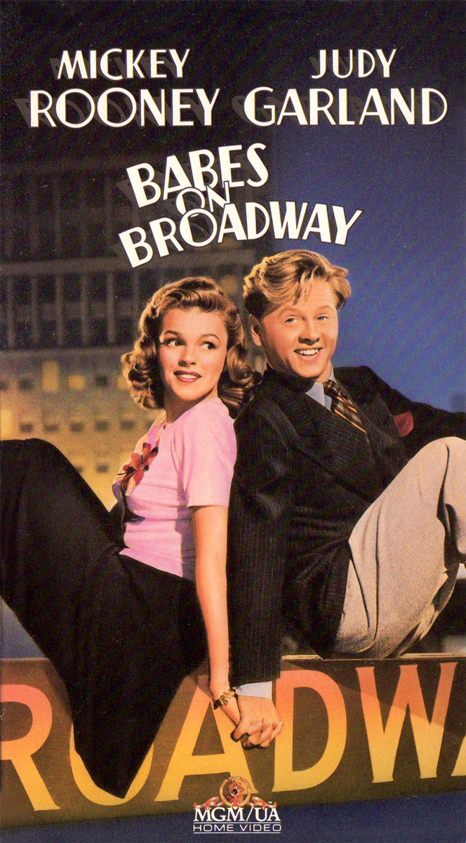"""""""Babes on Broadway"""" 1989 VHS"""