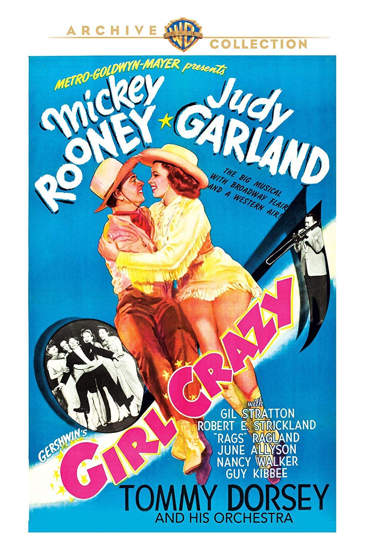 """Girl Crazy"" Warner Archive DVD October 2, 2018"