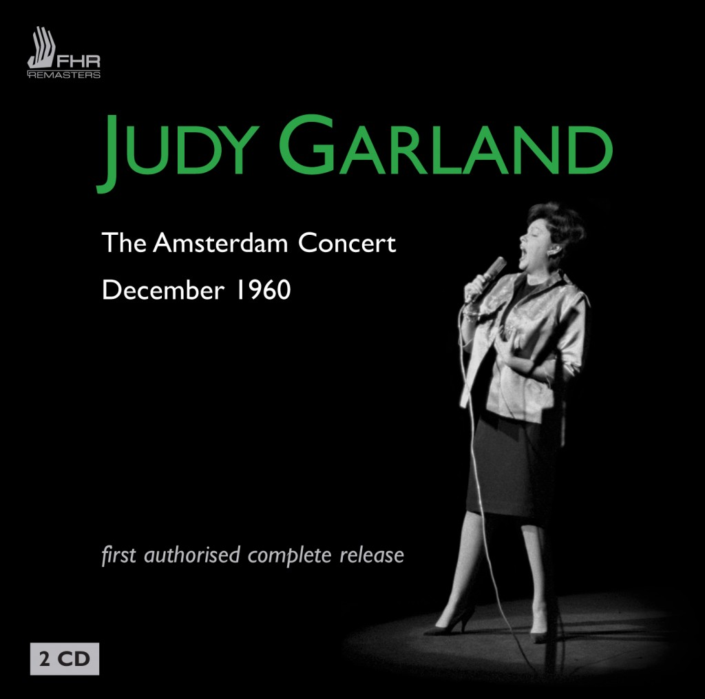 Judy Garland in Amsterdam 1960 on First Hand Records CD