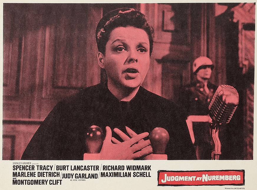 Judgment at Nuremberg Lobby Card