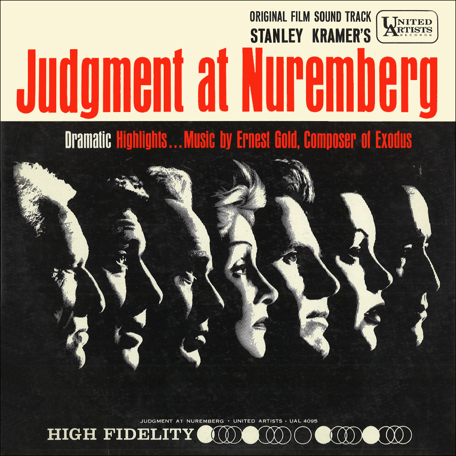 Judgment at Nuremberg soundtrack LP