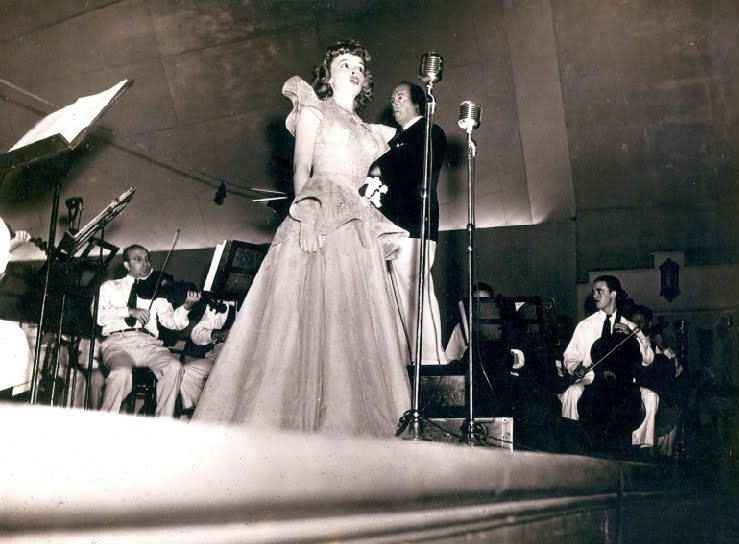 Judy Garland in concert at the Robin Hood Dell