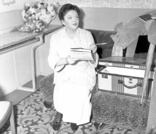 Judy Garland in Leeds 1960