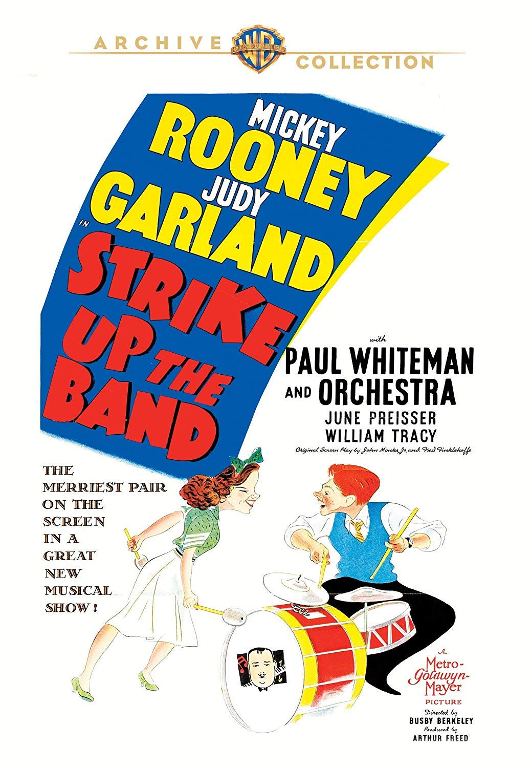 """Strike Up The Band"" Warner Archive DVD"