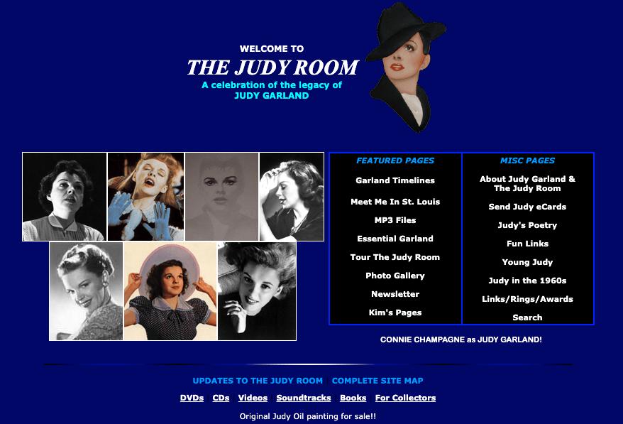 The Judy Room January 2003 Homepage