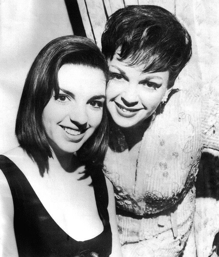 Judy Garland and Liza Minnelli Live at the London Palladium