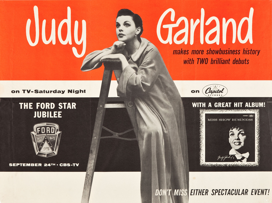 """Judy Garland """"Miss Show Business"""" and on the Ford Star Jubilee"""