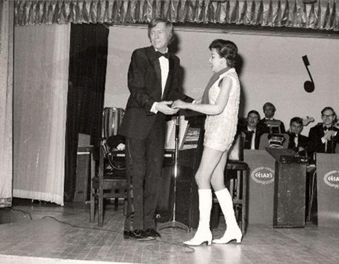 Judy Garland and Johnnie Ray February 9, 1969