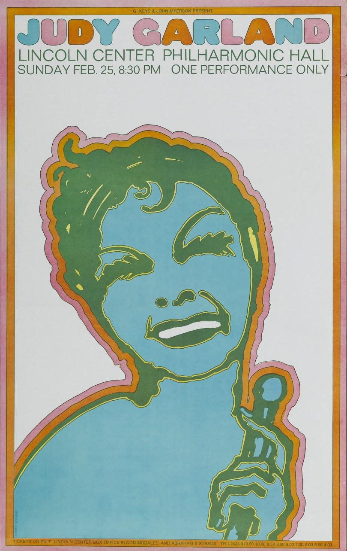 Judy Garland at Lincoln Center 1968