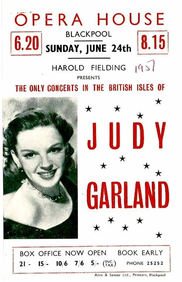 June 24, 1951 Judy Garland