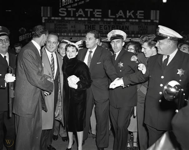 A Star Is Born Chicago premiere October 15, 1954